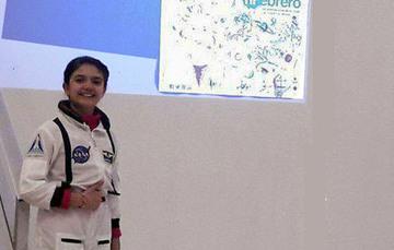Natalia y su pasión por el espacio