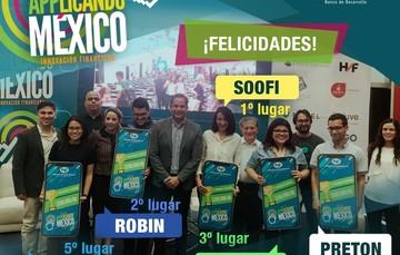 "Ganadores de la segunda edición de ""Applicando México"""