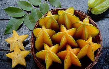 La exótica fruta estrella: el carambolo   Servicio de Información  Agroalimentaria y Pesquera   Gobierno   gob.mx