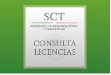 Aplicaión Cosulta Licencias de la SCT