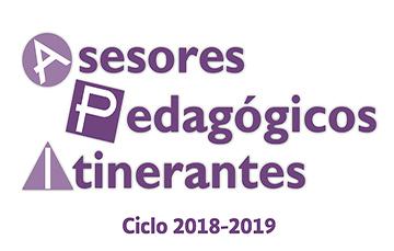 Banner para la convocatoria Asesores Pedagógicos Itinerantes