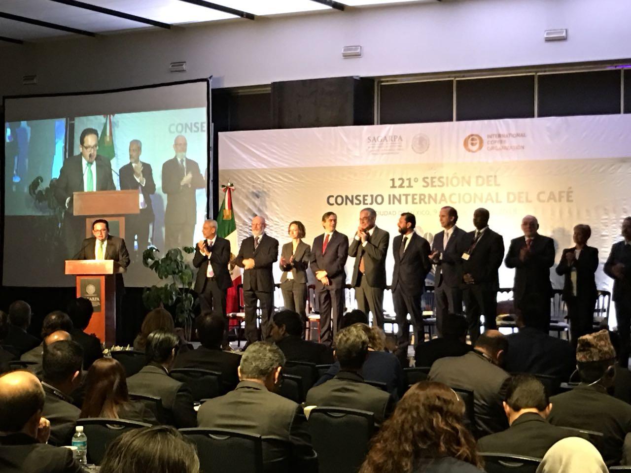 Sesión del Consejo Internacional del Café