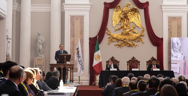 inauguración de la Convención Nacional Petrolera organizada por la AMEXHI