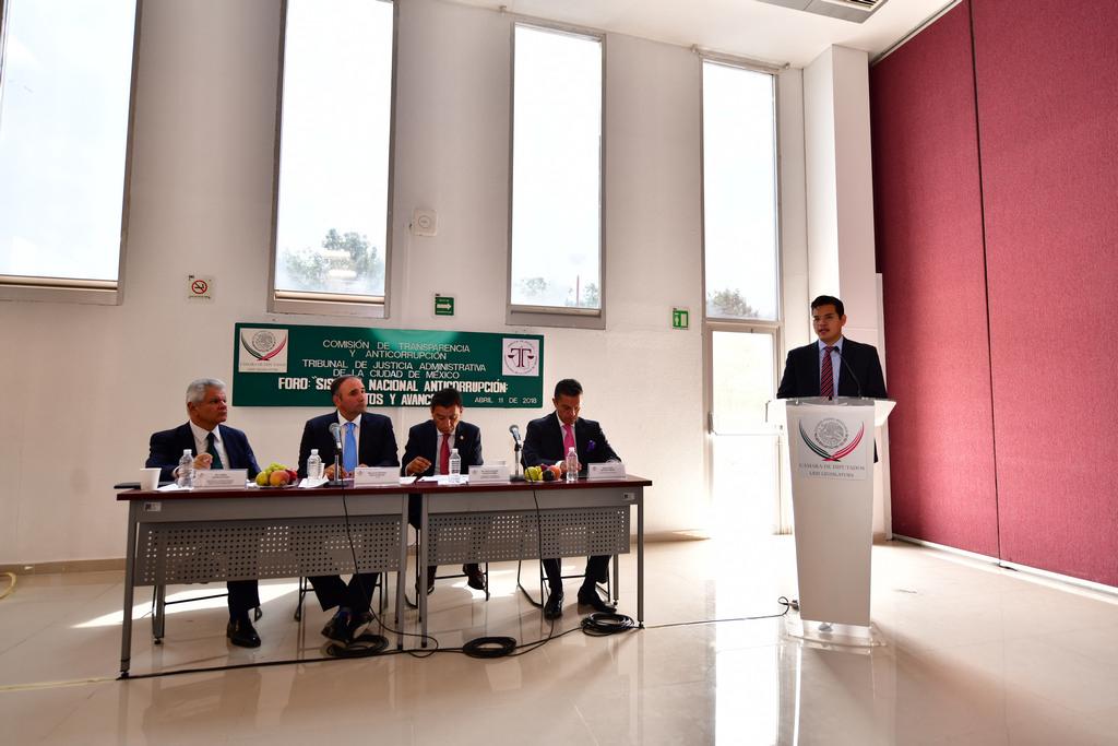 Participa SFP en foro legislativo sobre retos del Sistema Nacional Anticorrupción