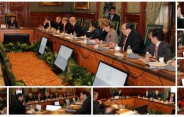 Reunión de Gabinete en Palacio Nacional