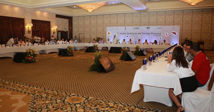 1ª Sesión Ordinaria del Consejo Directivo del Sistema Nacional del Deporte