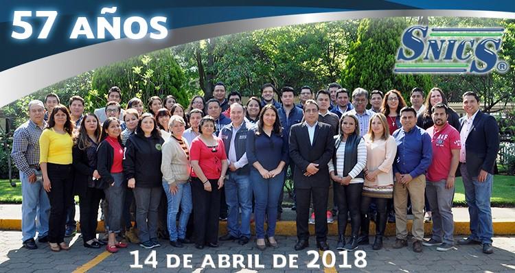 Personal del SNICS 2018 (Oficinas Centrales)
