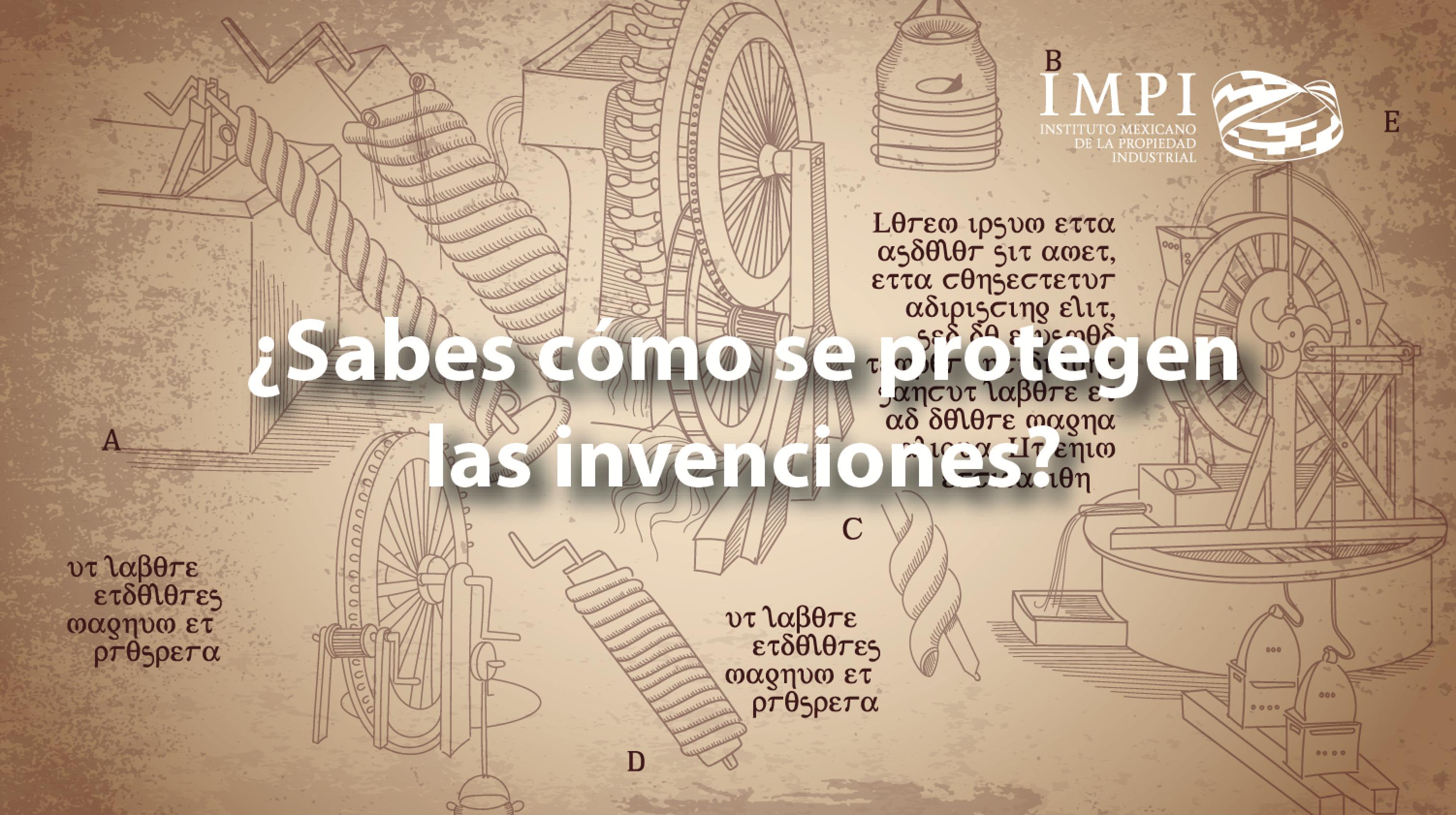 Protege tus invenciones