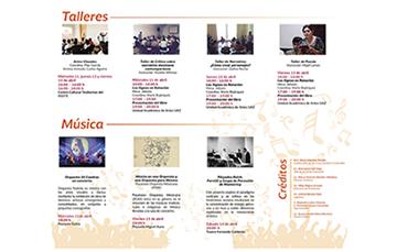 Festival Cultural Interfaz 2018. Zacatecas, Zacatecas.