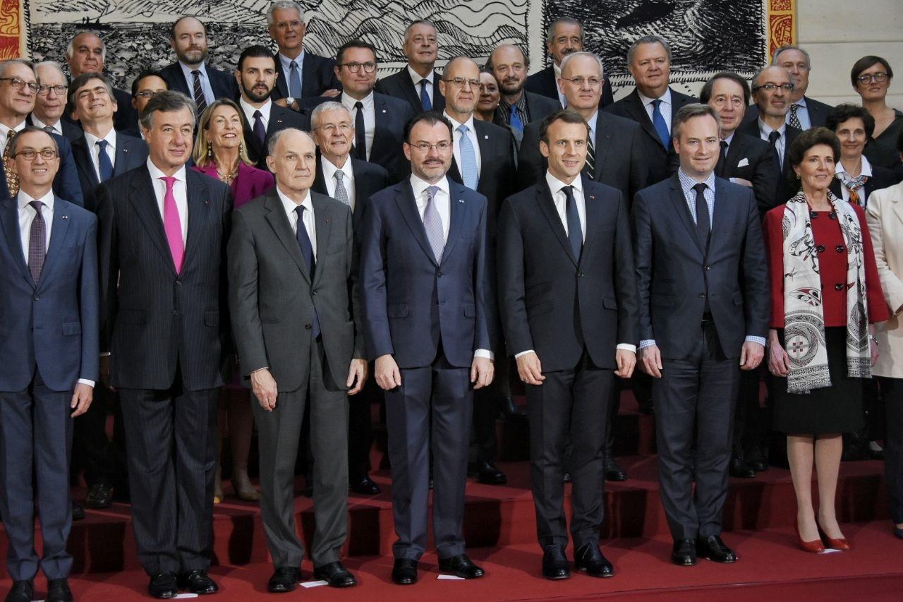 Se reúne el Canciller Luis Videgaray con el Presidente de Francia, Emmanuel Macron