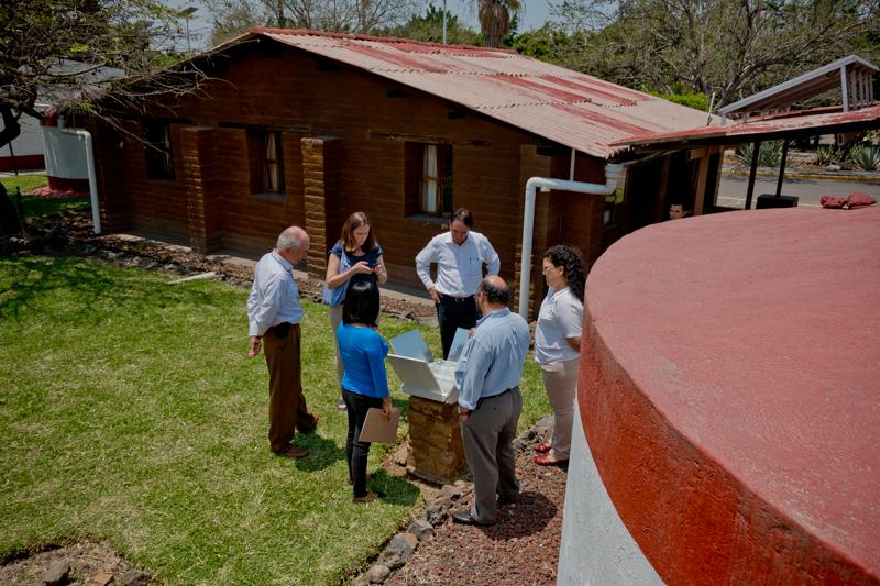 Representantes de la Fundación Gonzalo Río Arronte visitan el IMTA