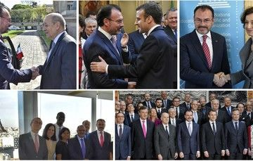 Concluye visita de trabajo del Canciller Luis Videgaray a Francia