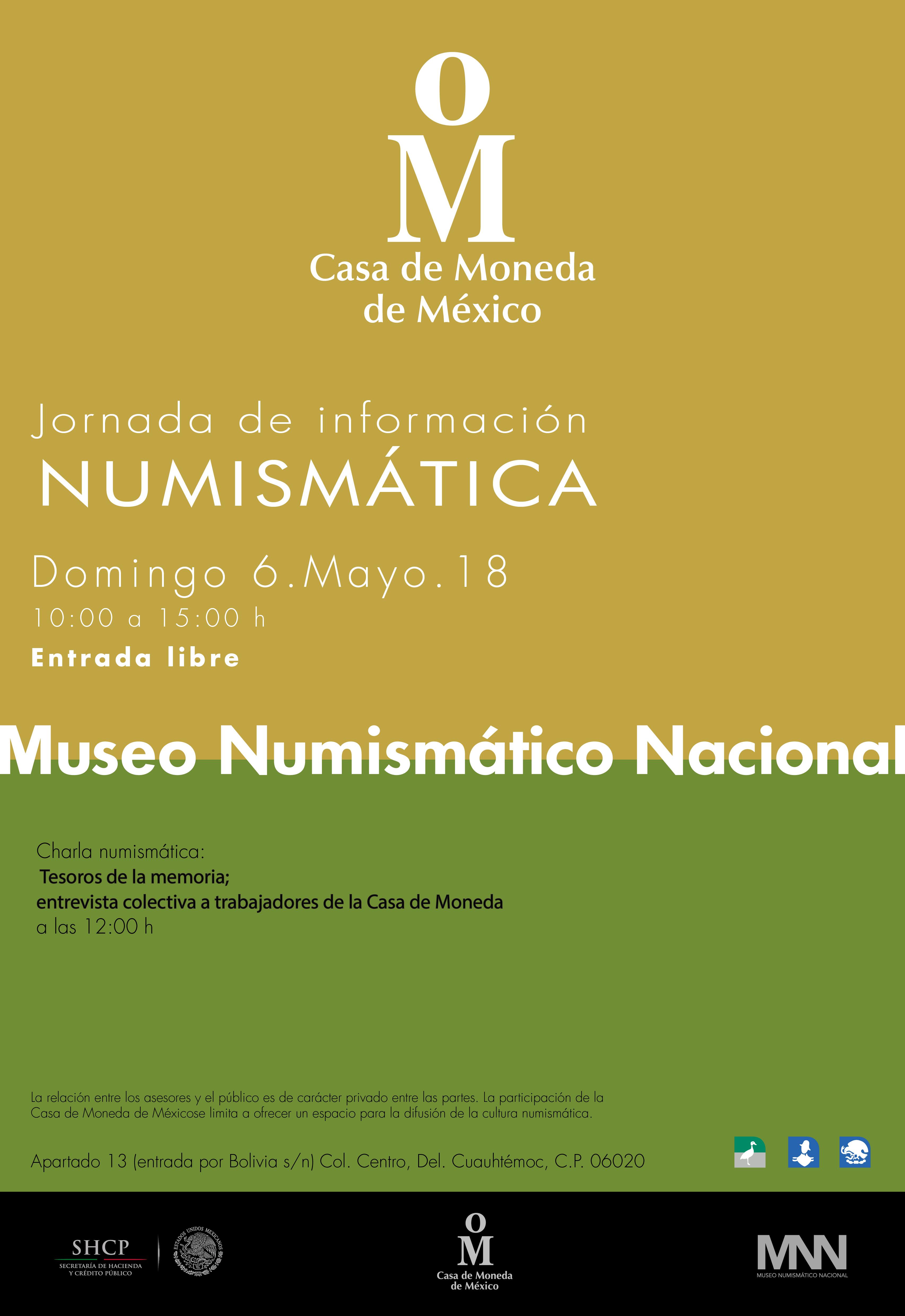 Jornada Numismática de mayo