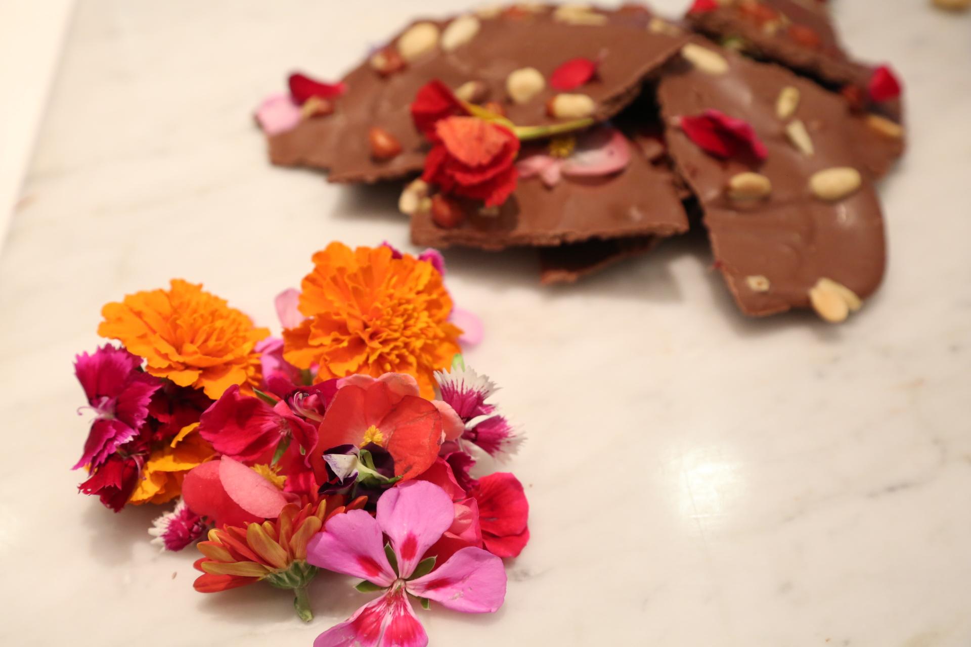 Cocina con flores comestibles y chocolate | Secretaría de Agricultura y  Desarrollo Rural | Gobierno | gob.mx