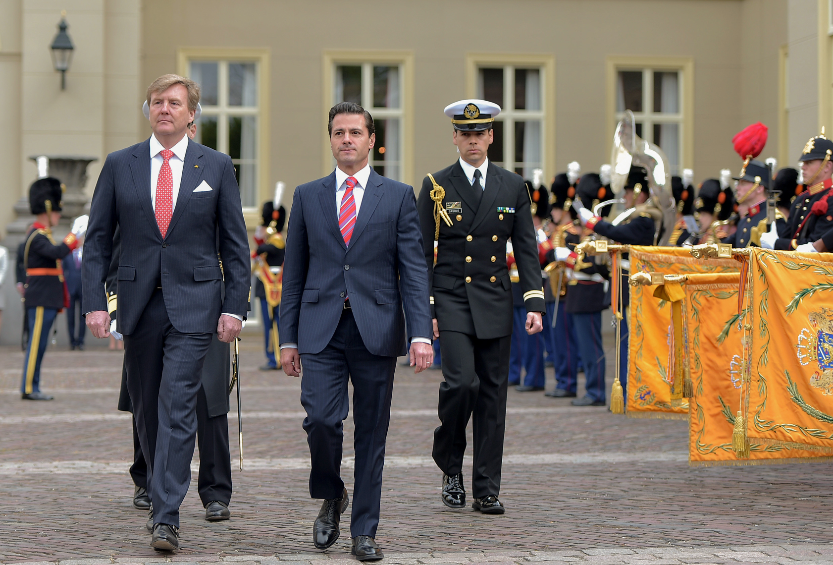 El Primer Mandatario sostuvo un encuentro con el Rey Willem-Alexander, acordaron fortalecer el diálogo político e identificar nuevas oportunidades de colaboración en manejo de recursos hídricos, cooperación energética, agricultura e infraestructura.