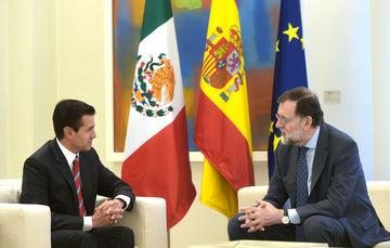 El Presidente Peña Nieto sostuvo un encuentro con el Presidente Mariano Rajoy para revisar el estado de la relación bilateral, la modernización del marco jurídico con la Unión Europea, y otros temas regionales y globales.