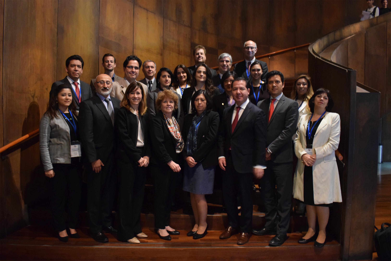 Suscriben plan de trabajo 2018-2019, Autoridades Sanitarias reunidas en Chile
