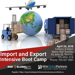 El Capítulo Toronto de la Red Global MX llevó a cabo Foro de Importación y Exportación
