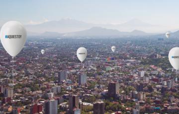 fotografía panorámica aérea de la CDMX