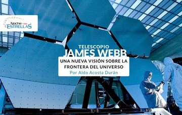 Telescopio James Webb ¡Conócelo!