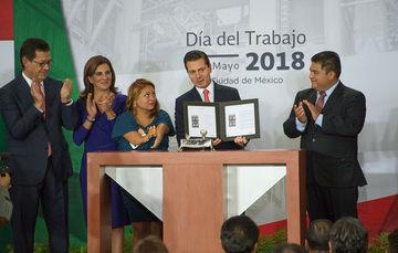 Asiste Roberto Campa a Conmemoración del Día Del Trabajo