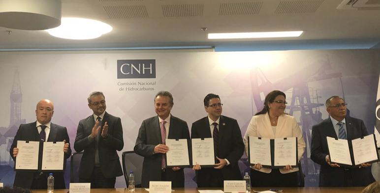 La Comisión Nacional de Hidrocarburos firma 19 contratos con los licitantes ganadores de la Cuarta Licitación de la Ronda Dos