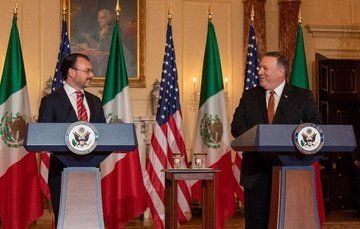 Foreign Secretary Luis Videgaray Meets with U.S. Secretary of State Mike Pompeo