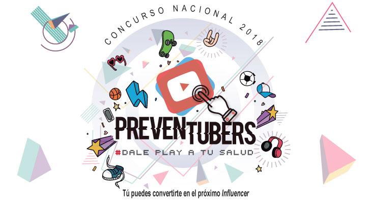 La imagen promueve el concurso nacional 2018 PREVENTUBERS.