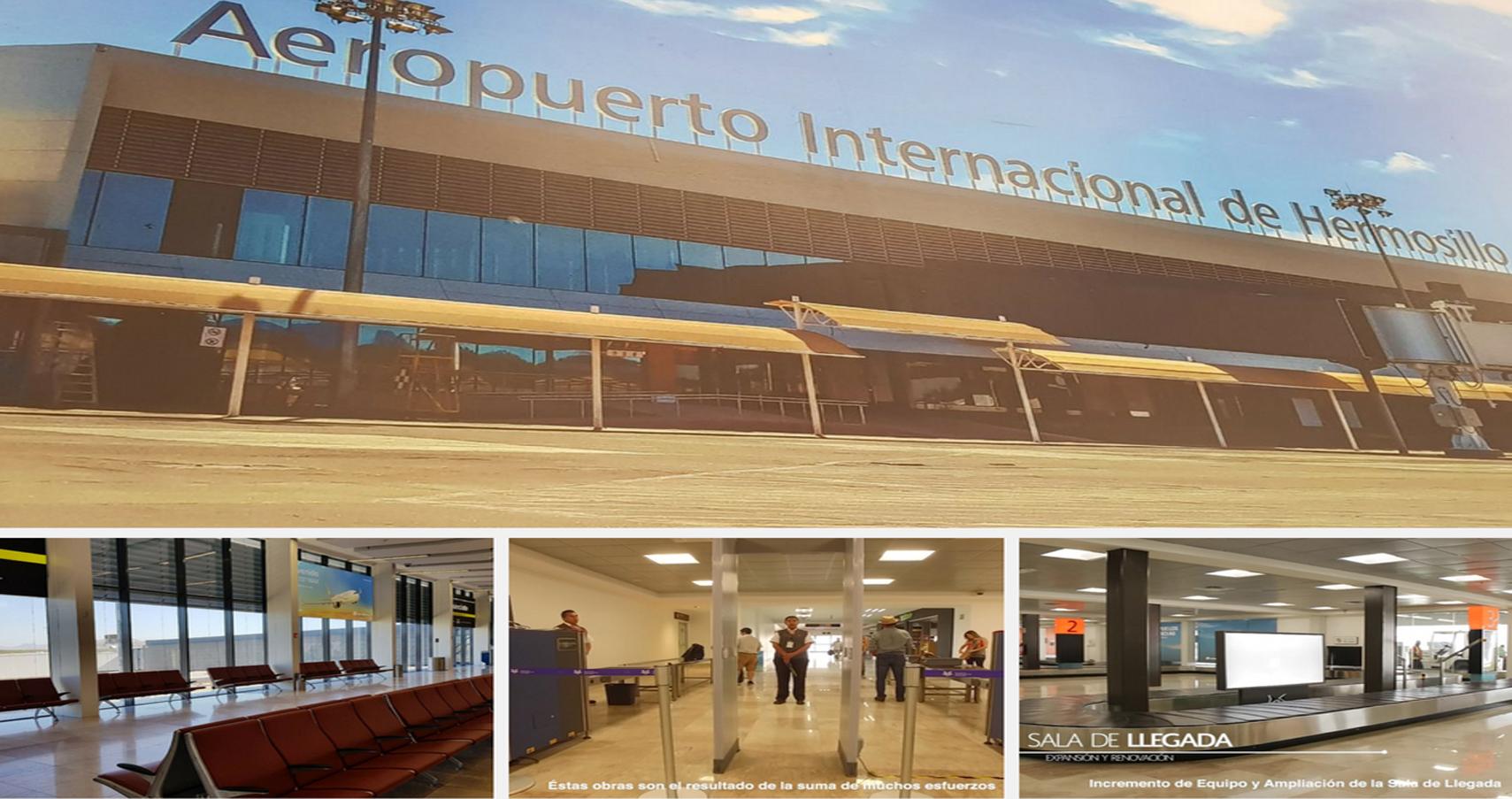 Inaugura el titular de la SCT ampliación y modernización del aeropuerto de Hermosillo