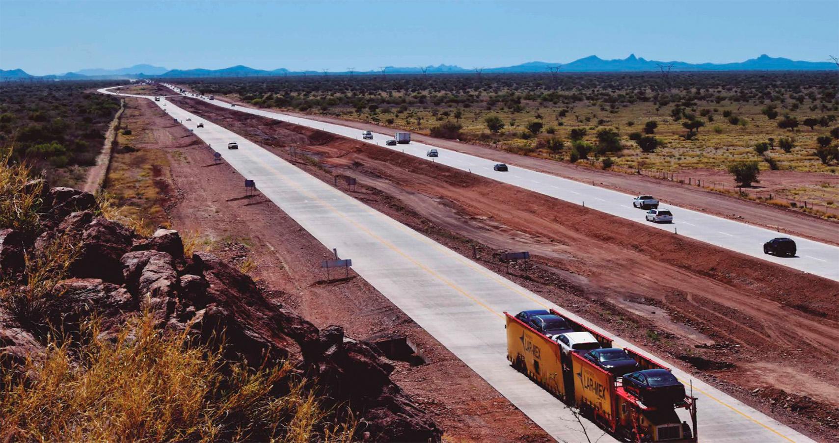 Concluyen en agosto los trabajos de modernización de la carretera Estación Don-Nogales