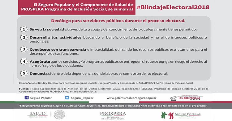#BlindajeElectoral2018.