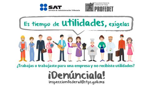 Imagen de propaganda de la Participación de los Trabajadores en las Utilidades 2018