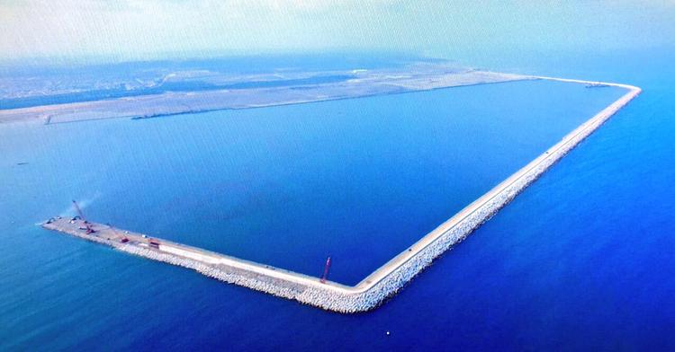 Supervisión de avances en la construcción del Nuevo Puerto de Veracruz