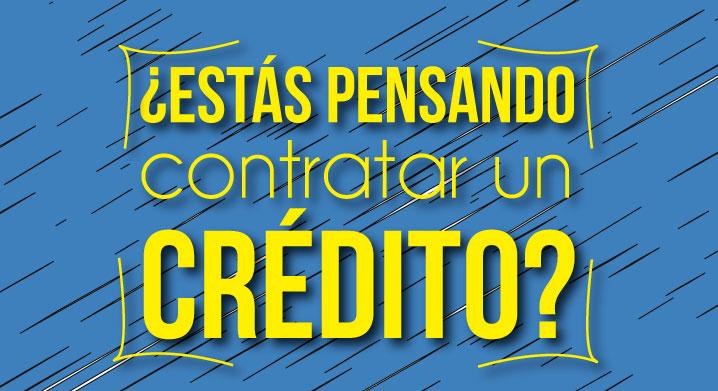 Contratar un crédito