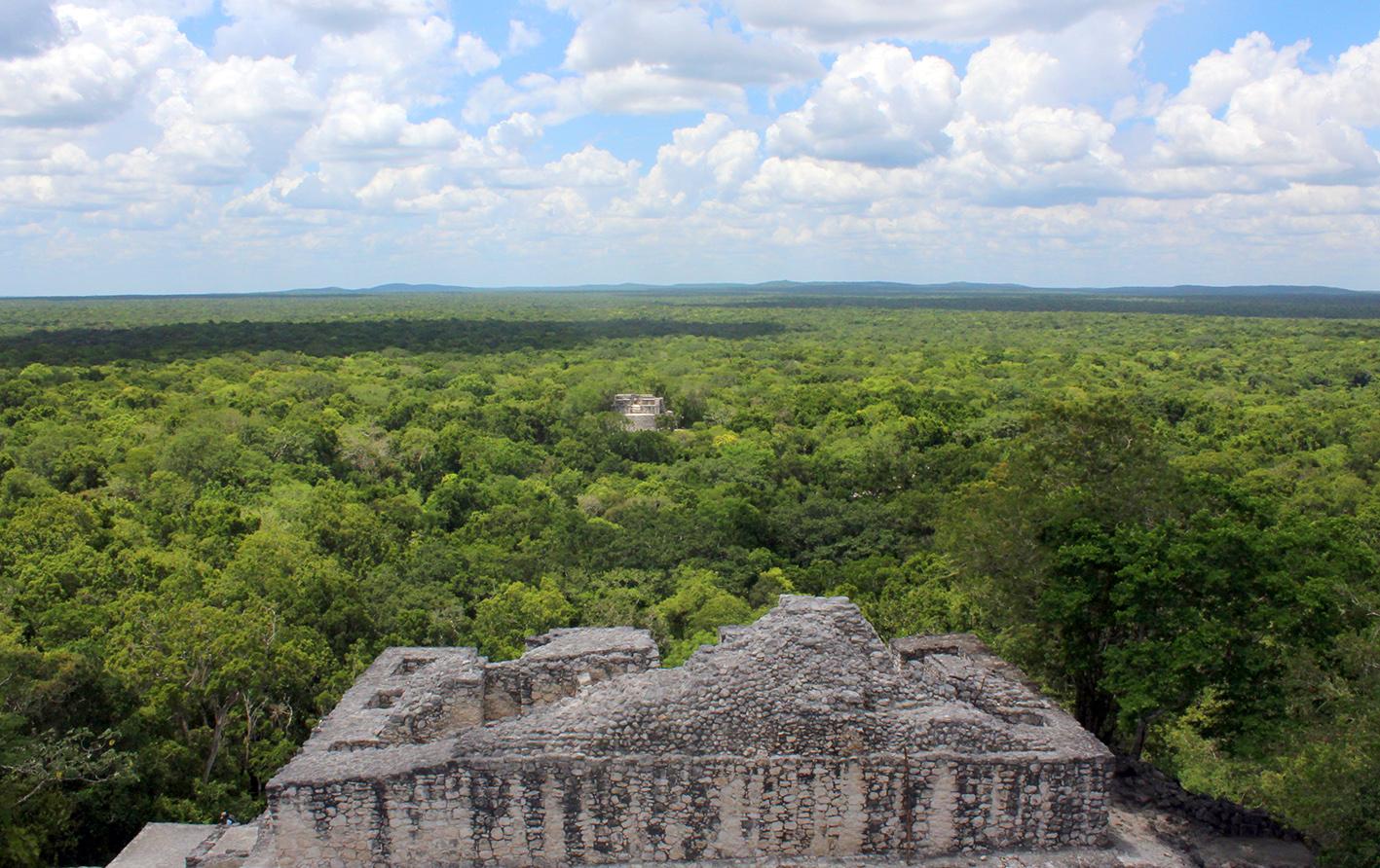 Calakmul es el sitio arqueológico más grande que da testimonio de la colonización del territorio.