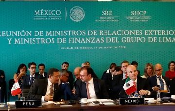 Meeting of Lima Group Foreign and Finance Ministers