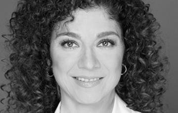 La actriz y productora Ana Karina Guevara