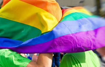 Foto de bandera LGBTTTI.