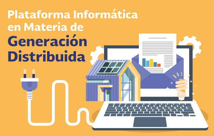 Plataforma Informática en Materia de Generación Distribuida
