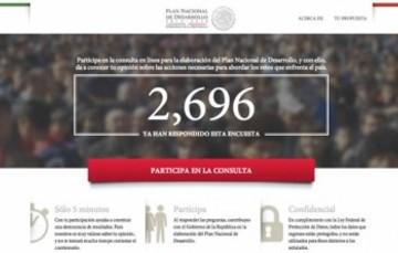 Participa en la consulta en línea para construir el Plan Nacional de Desarrollo 2013 -2018