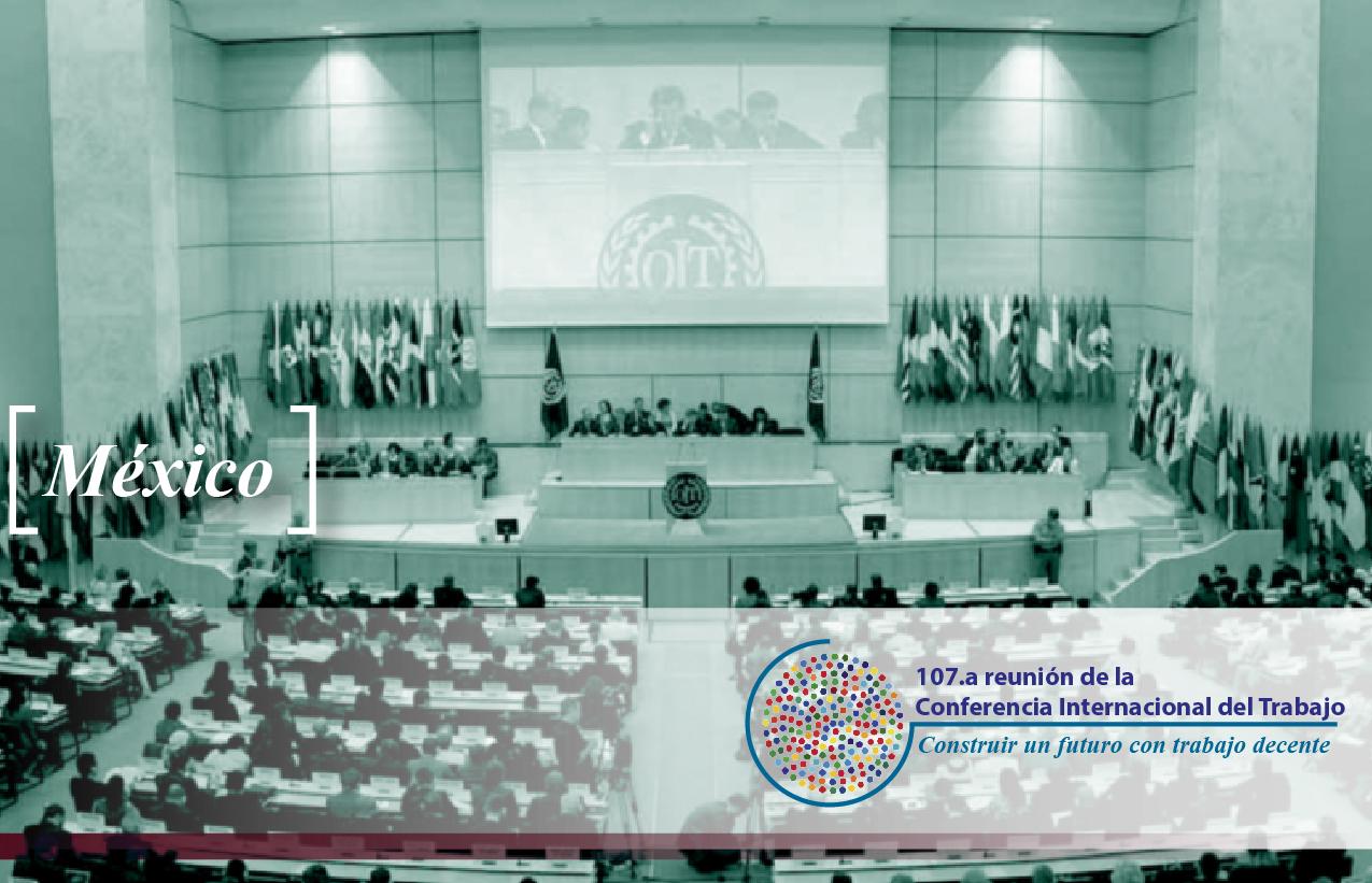 107.ª reunión de la Conferencia Internacional del Trabajo