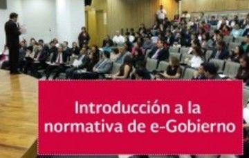 Taller de Introducción a la normativa de e-Gobierno
