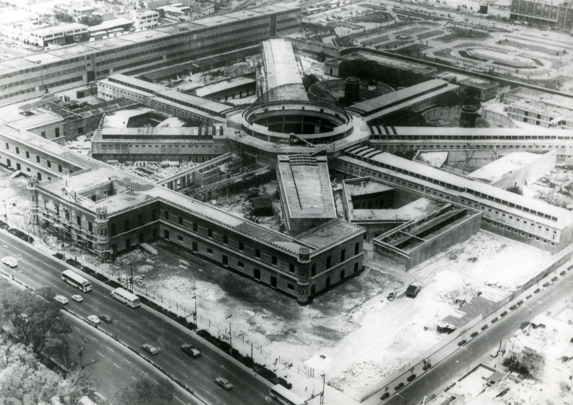 Remodelación  de la antigua Penitenciaría del Distrito Federal