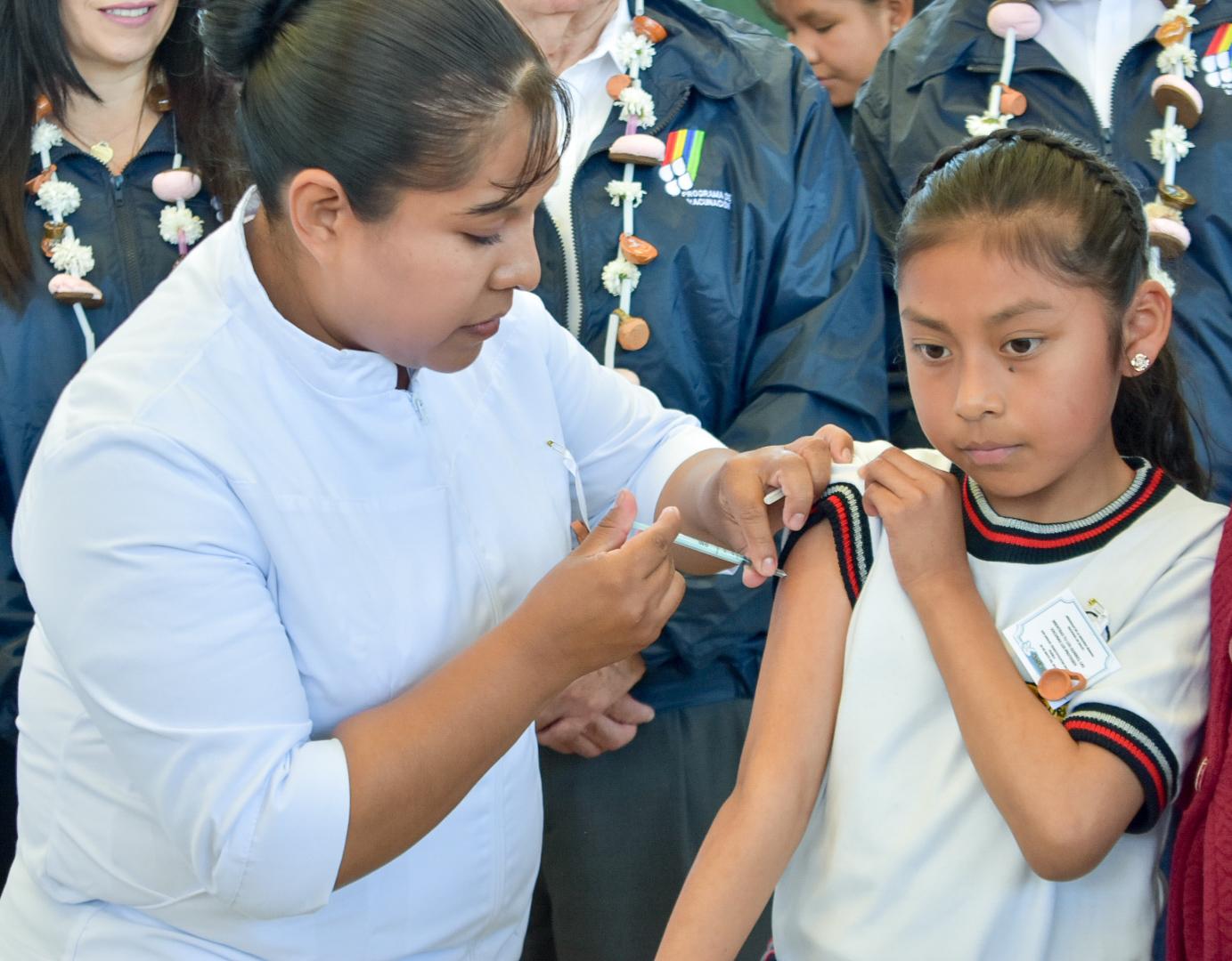 Vacunación.