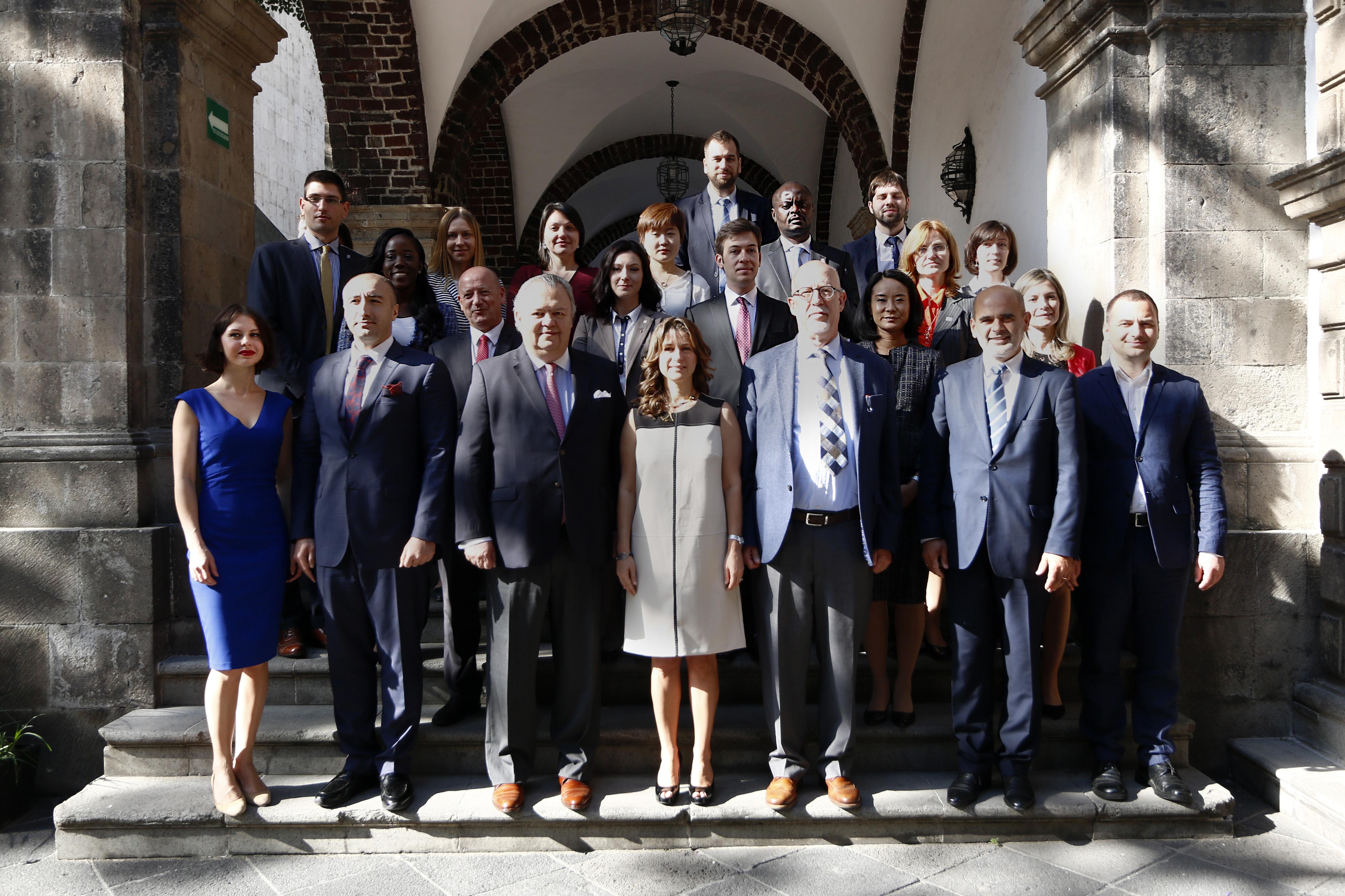 XIV Curso de Política Exterior de México para Diplomáticos Extranjeros