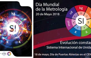 Póster alusivo al Día Mundial de la Metrología