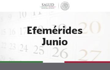 Efemérides de Junio 2018.