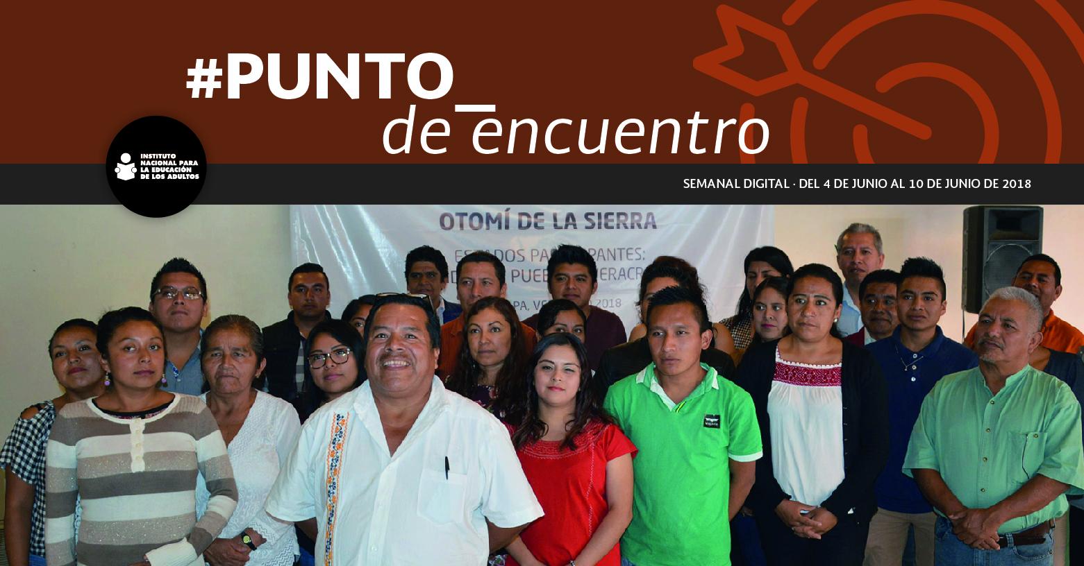 Conforman nueva ruta de aprendizaje para el MEVyT indígena bilingüe