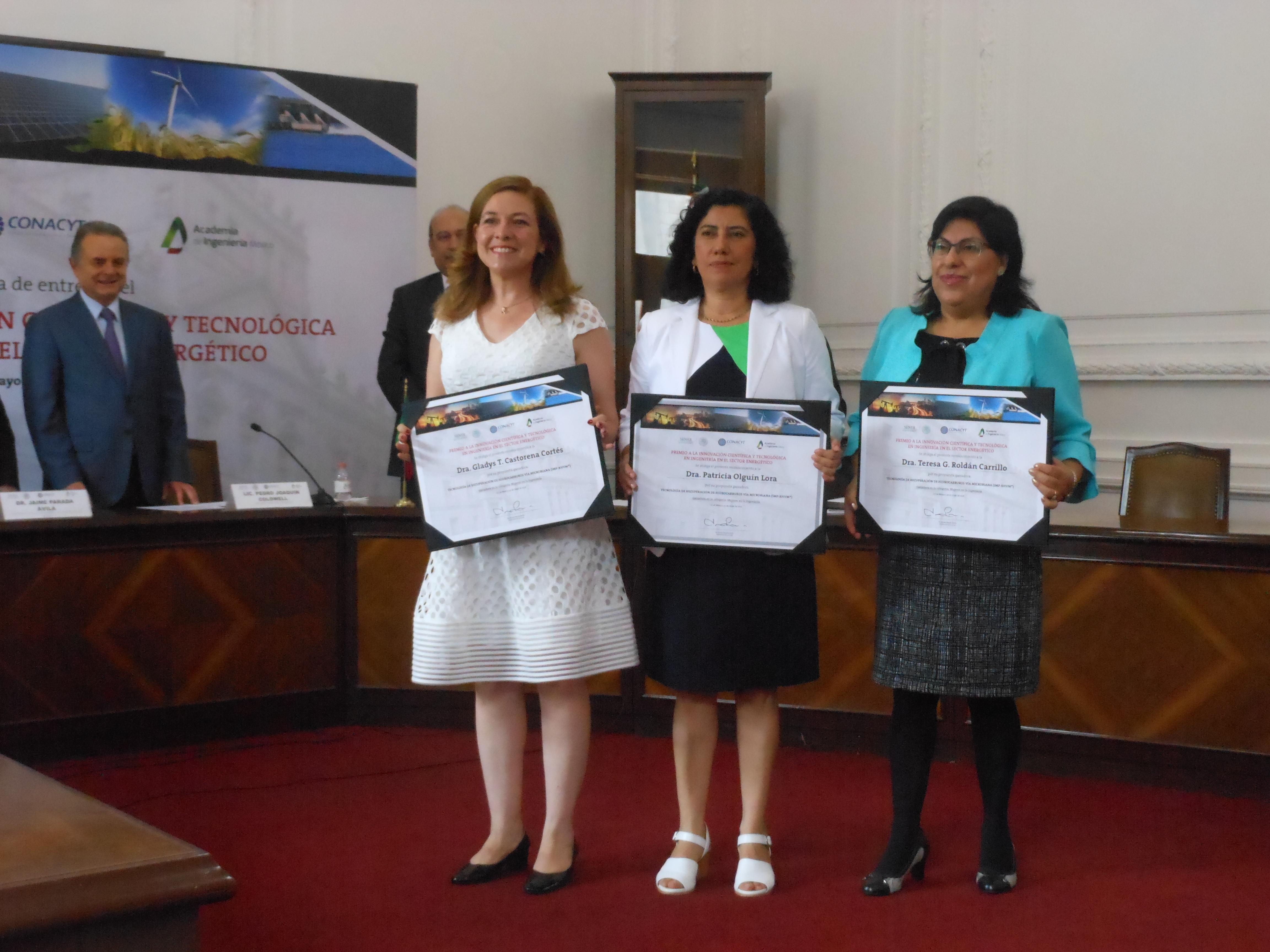 Premio a la Innovación Científica y Tecnológica.