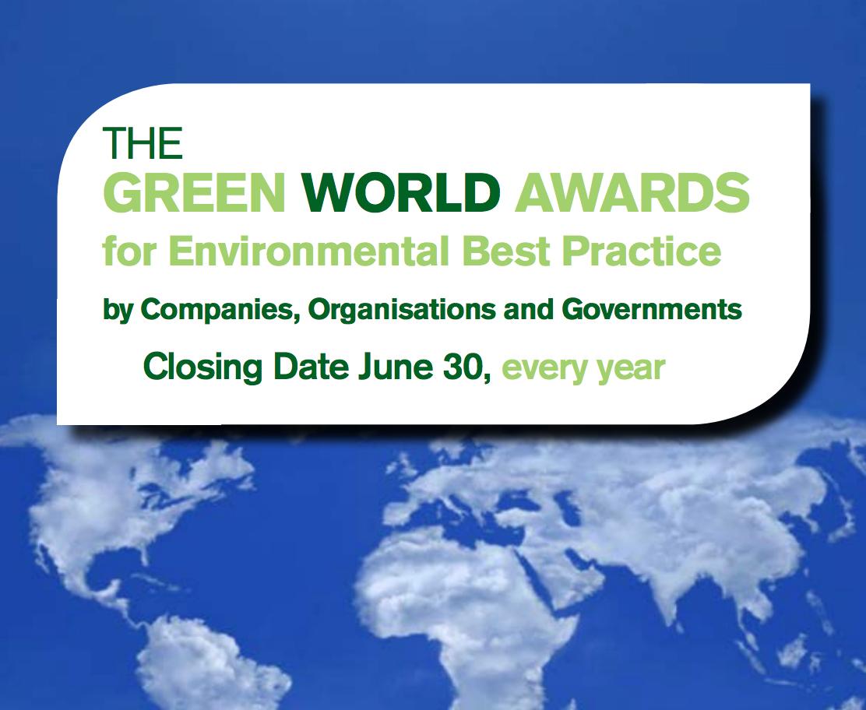 Convocatoria Green World Awards 2018
